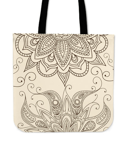 Henna Tote - MikeAndNikes™- We Just Did It - Cream of The Crop®