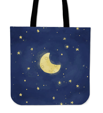 Moon and Stars Tote - MikeAndNikes™- We Just Did It - Cream of The Crop®