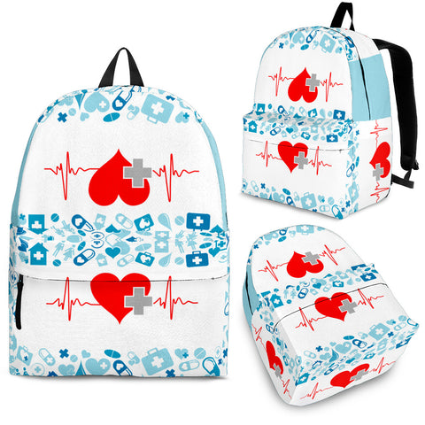 NURSE NURSING BACKPACK - MikeAndNikes™- We Just Did It - Cream of The Crop®
