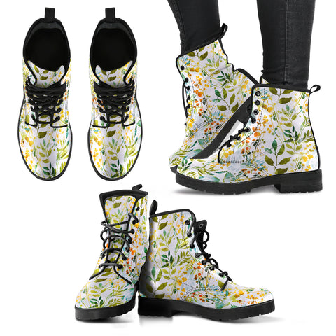 HandCrafted Boho Spring Boots - MikeAndNikes™- We Just Did It - Cream of The Crop®