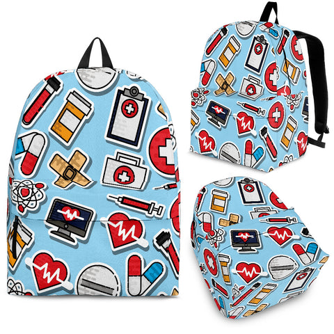 Nurse Backpack - MikeAndNikes™- We Just Did It - Cream of The Crop®