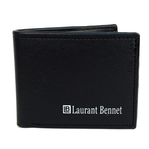 Bi-Fold Leather Wallet - MikeAndNikes™- We Just Did It - Cream of The Crop®
