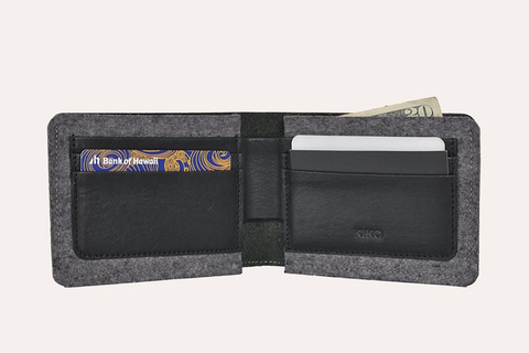 Dual Textured Wallet - MikeAndNikes™- We Just Did It - Cream of The Crop®