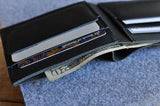 Sleek Bifold Wallet - MikeAndNikes™- We Just Did It - Cream of The Crop®