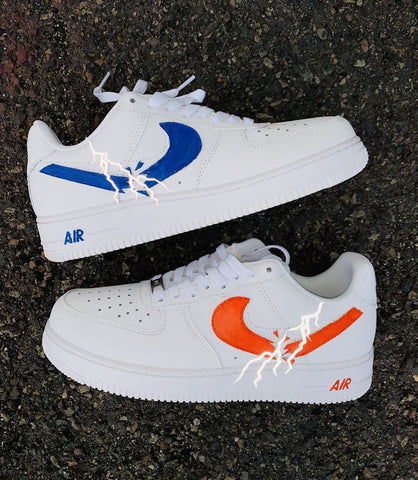 Lightning Struck Air Force 1 - MikeAndNikes™- We Just Did It - Cream of The Crop®