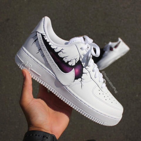 STRANGE GALAXY AF1 - MikeAndNikes™- We Just Did It - Cream of The Crop®