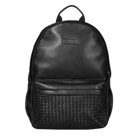 Weaved Journey Leather Backpack - MikeAndNikes™- We Just Did It - Cream of The Crop®