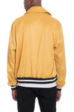 LUXE SATIN BOMBER- GOLD - MikeAndNikes™- We Just Did It - Cream of The Crop®