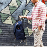 RAVENFOLD BACKPACK - MikeAndNikes™- We Just Did It - Cream of The Crop®