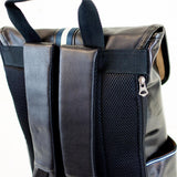 PORTSMAN FLAPTOP BACKPACK - MikeAndNikes™- We Just Did It - Cream of The Crop®