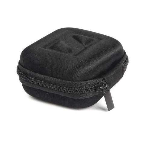 Headphone Earbud Carrying Storage Bag Pouch Hard - MikeAndNikes™- We Just Did It - Cream of The Crop®