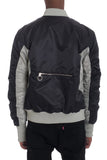 TWO TONE BOMBER- BLACK - MikeAndNikes™- We Just Did It - Cream of The Crop®