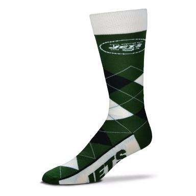 New York Jets Argyle Crew Cut Socks - MikeAndNikes™- We Just Did It - Cream of The Crop®