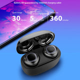 Mini True Wireless Twins Bluetooth Earbuds In-Ear - MikeAndNikes™- We Just Did It - Cream of The Crop®