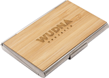 Handmade Wooden Business Card Holder - MikeAndNikes™- We Just Did It - Cream of The Crop®
