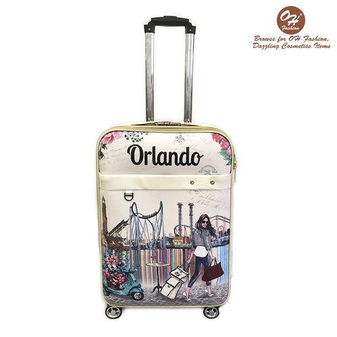OH Fashion Luggage Amazing Orlando - MikeAndNikes™- We Just Did It - Cream of The Crop®