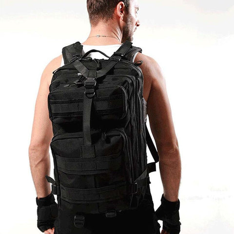 Men Backpack  Masculina Waterproof Back - MikeAndNikes™- We Just Did It - Cream of The Crop®
