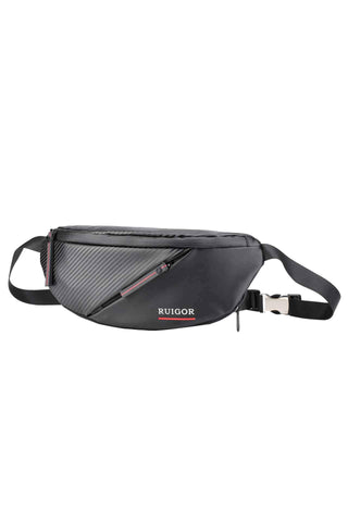 RUIGOR CITY 17 Waistbag Black - MikeAndNikes™- We Just Did It - Cream of The Crop®