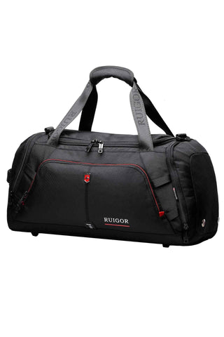 RUIGOR MOTION 07 Duffelbag Black - MikeAndNikes™- We Just Did It - Cream of The Crop®