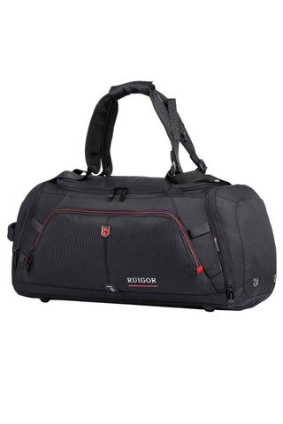 RUIGOR MOTION 12 Duffelbag Black - MikeAndNikes™- We Just Did It - Cream of The Crop®