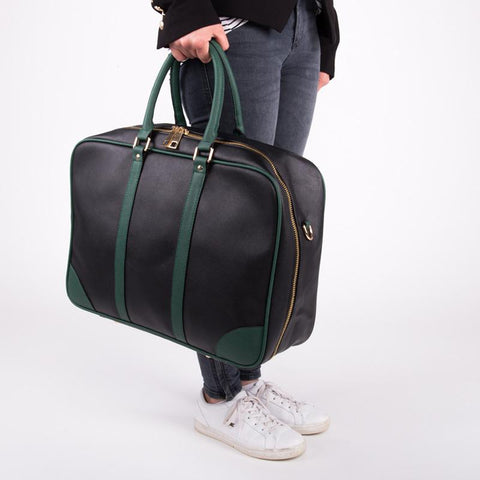 Soft Sided Case - Black/Green - MikeAndNikes™- We Just Did It - Cream of The Crop®