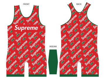 Supreme Lacoste singlet - MikeAndNikes™- We Just Did It - Cream of The Crop®