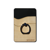 Wallet RNGR - Wooden Phone Wallet & Ring Phone - MikeAndNikes™- We Just Did It - Cream of The Crop®