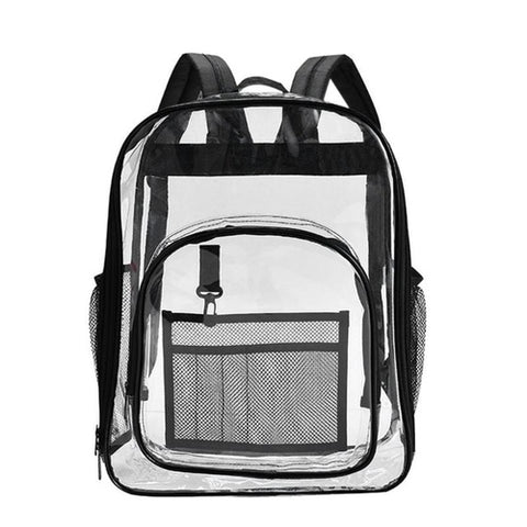 Waterproof PVC Transparent Women Backpack Home - MikeAndNikes™- We Just Did It - Cream of The Crop®
