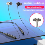 Wireless Blueteeth 5.0 Headset Earbuds Magnetic - MikeAndNikes™- We Just Did It - Cream of The Crop®