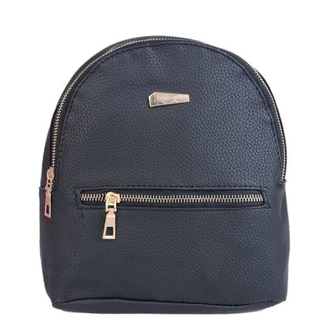 Women Backpack Fashion Casual PU Leather - MikeAndNikes™- We Just Did It - Cream of The Crop®