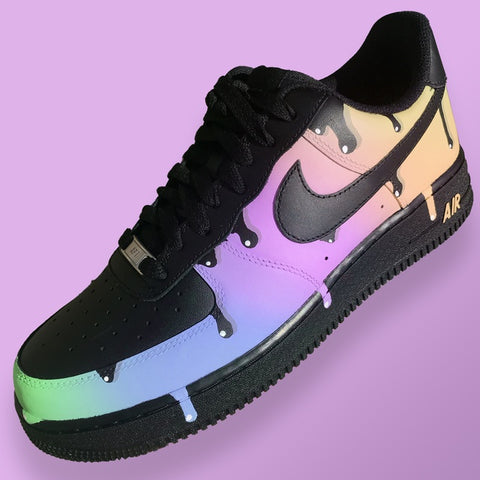 Nike Air Force One (Sherbet Drip) - MikeAndNikes™- We Just Did It - Cream of The Crop®