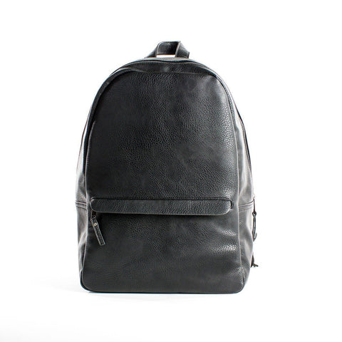 Tucker Vegan Leather Backpack - MikeAndNikes™- We Just Did It - Cream of The Crop®