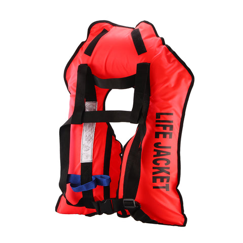 Life Jacket Survival Suit Red Color - MikeAndNikes™- We Just Did It - Cream of The Crop®
