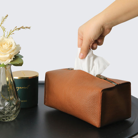 Facial tissue cover, Tissue box cover - MikeAndNikes™- We Just Did It - Cream of The Crop®