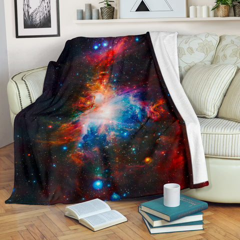 VISTA Orion Nebula Space Blanket - MikeAndNikes™- We Just Did It - Cream of The Crop®