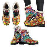 Flower Boots 2 - MikeAndNikes™- We Just Did It - Cream of The Crop®