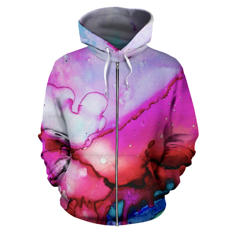 Zip-Up Hoodie Dream in Color - MikeAndNikes™- We Just Did It - Cream of The Crop®
