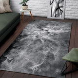 Greyscale Carina Nebula Rug - MikeAndNikes™- We Just Did It - Cream of The Crop®