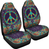 Purple Peace Mandala Car Seat Covers - MikeAndNikes™- We Just Did It - Cream of The Crop®