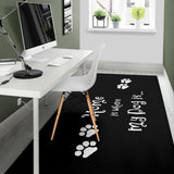 Dog Home Area Rug - MikeAndNikes™- We Just Did It - Cream of The Crop®