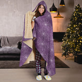 Goth Web Purple Hooded Blanket - MikeAndNikes™- We Just Did It - Cream of The Crop®