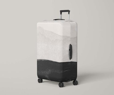 Luggage Protector Minimalist Print Luggage - MikeAndNikes™- We Just Did It - Cream of The Crop®
