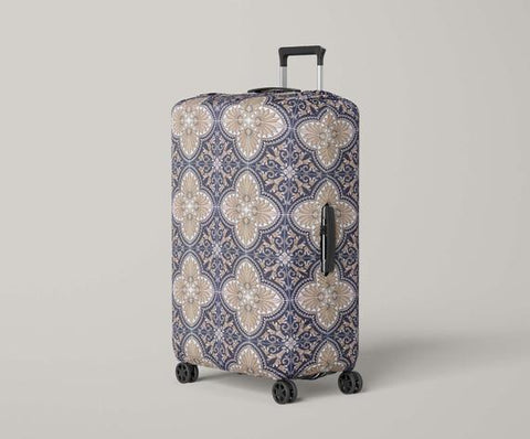 Luggage Cover Azulejos Portugal Tiles Travel Gifts - MikeAndNikes™- We Just Did It - Cream of The Crop®