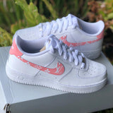 "Air Force 1 ""Pink Supreme L V"" Customs"