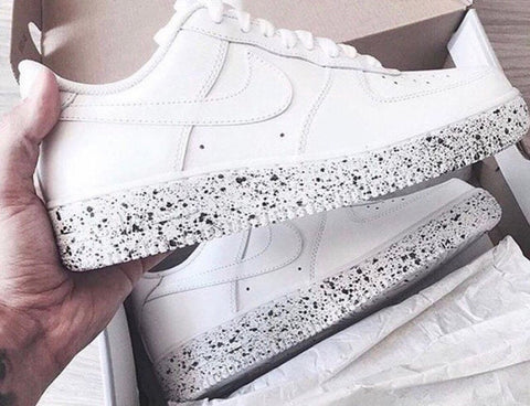 "Air Force 1 low ""ice cream paint job"" Customs"