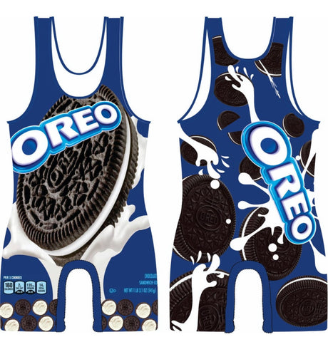 OREO wrestling Singlet by Leggett Equip. Co. - MikeAndNikes™- We Just Did It - Cream of The Crop®