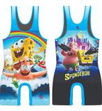 Spongebob square pants wrestling singlet - MikeAndNikes™- We Just Did It - Cream of The Crop®