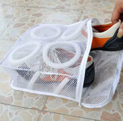 Shoe Mesh Wash laundry bag - MikeandNikes - MikeAndNikes™- We Just Did It - Cream of The Crop®