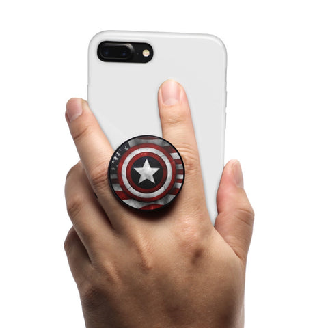 Coolgrips Phone Grip and stand American Shield - MikeAndNikes™- We Just Did It - Cream of The Crop®