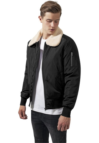 Pilot Bomber Jacket - MikeAndNikes™- We Just Did It - Cream of The Crop®